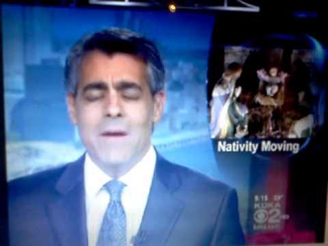 My son Xavier Carter on the news a year ago