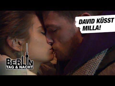 Berlin - Tag & Nacht - David küsst Milla! #1658 - RTL II