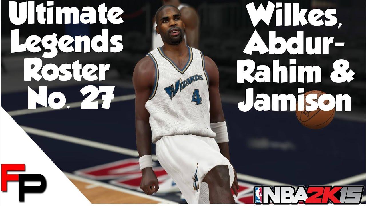 NBA 2K15 ef Abdur Rahim Antawn Jamison & Jamaal Wilkes