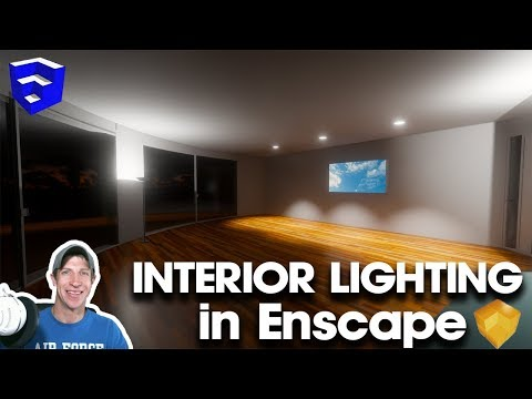 ADDING LIGHTING TO YOUR REALTIME RENDERING with Enscape for SketchUp