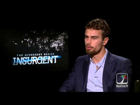 Theo James Interview The Divergent Series: Insurgent