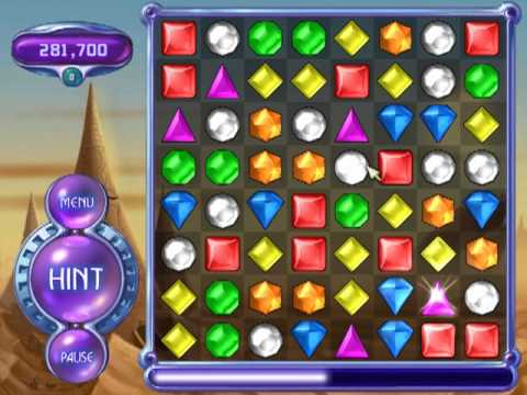 Bejeweled 2 Gameplay:Action Mode