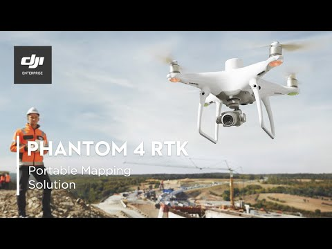 DJI PHANTOM 4 RTK – A Game Changer for Construction Surveyin