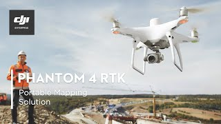 DJI PHANTOM 4 RTK – A Game Changer for Construction Surveying
