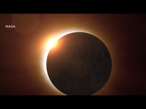'Be very, very careful': A solar eclipse safety warning