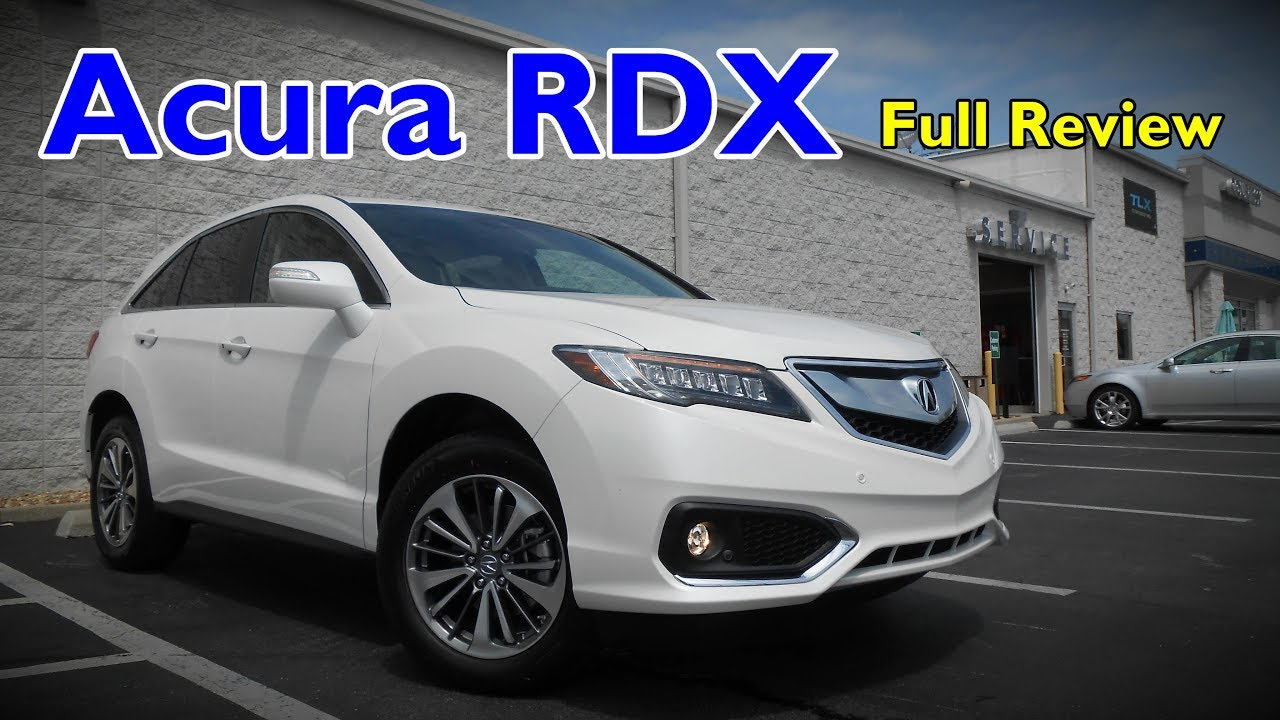 2018 acura rdx full review advance technology acurawatch youtube. Black Bedroom Furniture Sets. Home Design Ideas