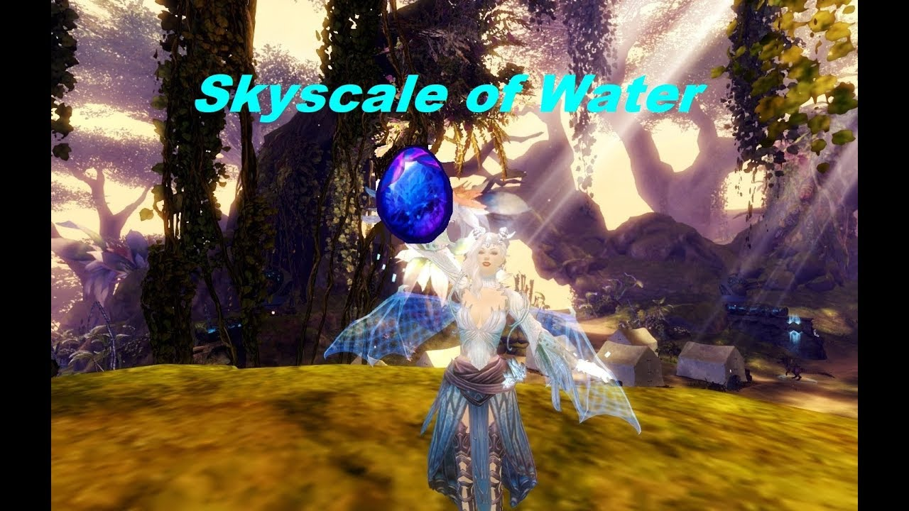 Guild Wars 2 Skyscale Of Water Youtube