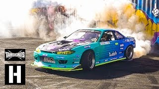 1000hp Supercharged s14 - Ken Block - LS Fest West Huck Session
