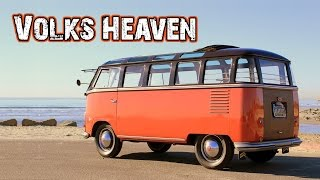 WE FOUND A VW BUS PARADISE