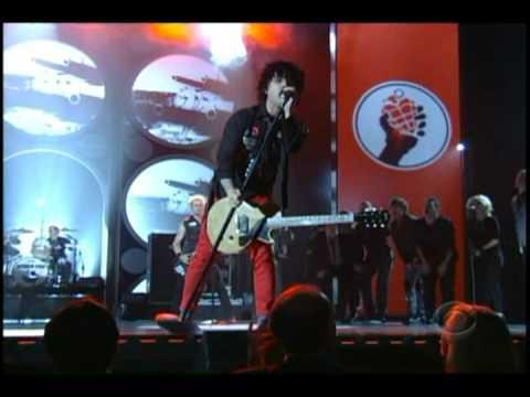 Green Day at the 2010 Tony Awards