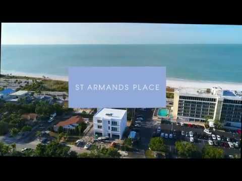 For Sale! St Armands Place. 266 S, Polk Drive. Lido Key