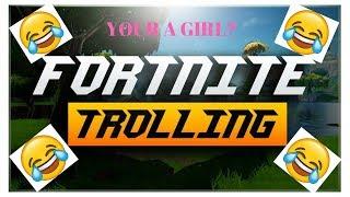 FORTNITE TROLLING GIRL VOICE!!!!