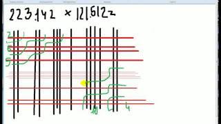 Необычный способ умножения чисел (Третий урок)