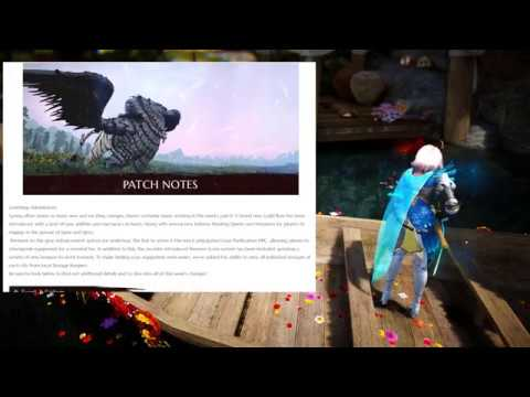 SO MANY Changes this week... but i like them all   BDO Patch Notes 18-April-2018