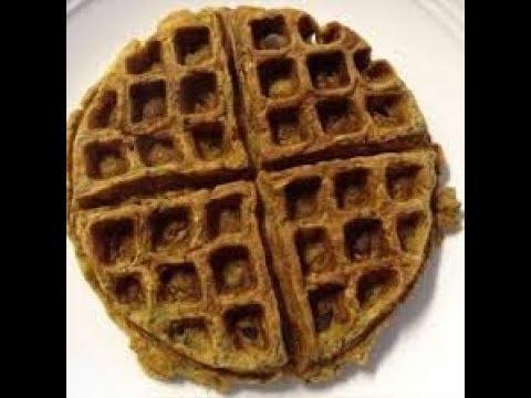 Gluten-Free Blueberry Oat Waffles