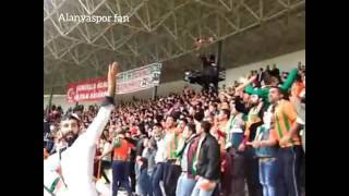 Alanyaspor-Konyaspor tribün görüntüleri 04/12/2016