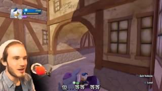 唐老鴨回歸 無限制的迪士尼 pewdiepie 中文字幕