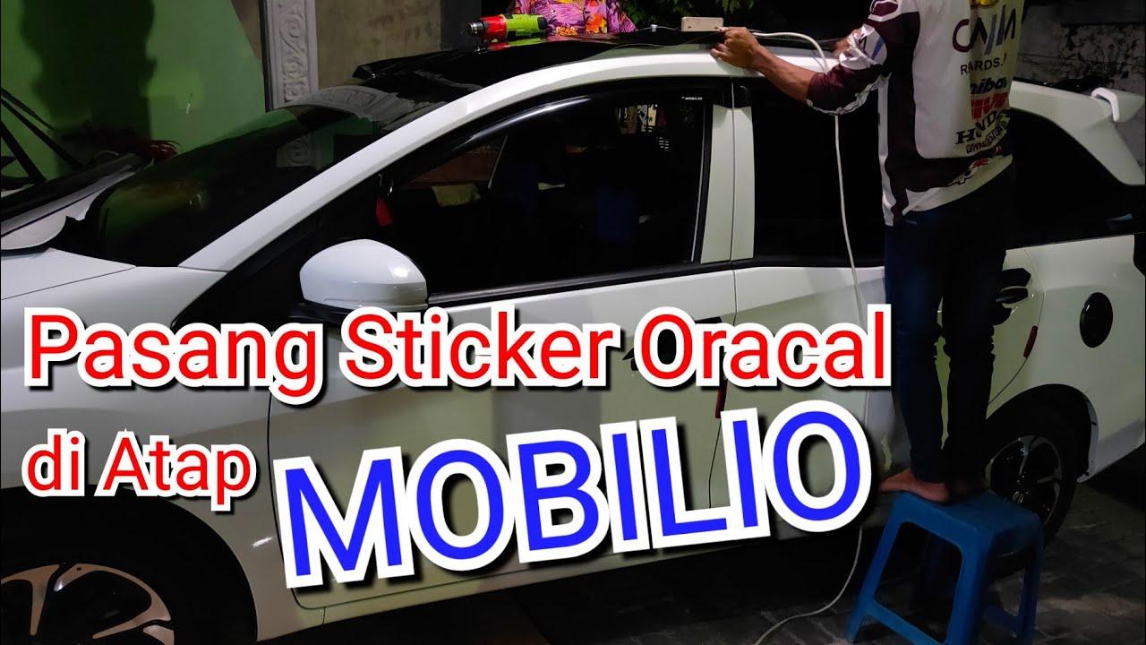 Cara Biar Warna Cat Mobil Tetap Bagus Pasang Sticker Di Atap Mobil Youtube