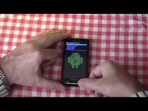 Процесс альтернативной прошивки на примере Sony Ericsson X10i