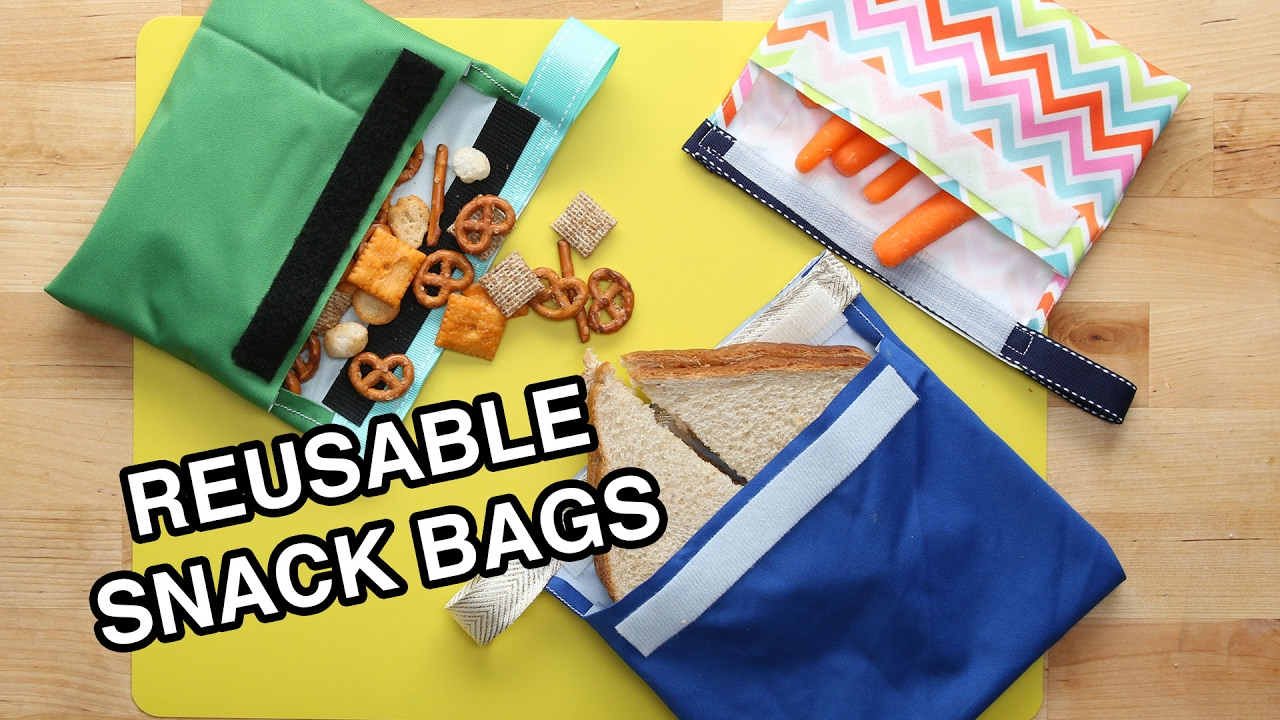 Reusable Snack Bags Youtube