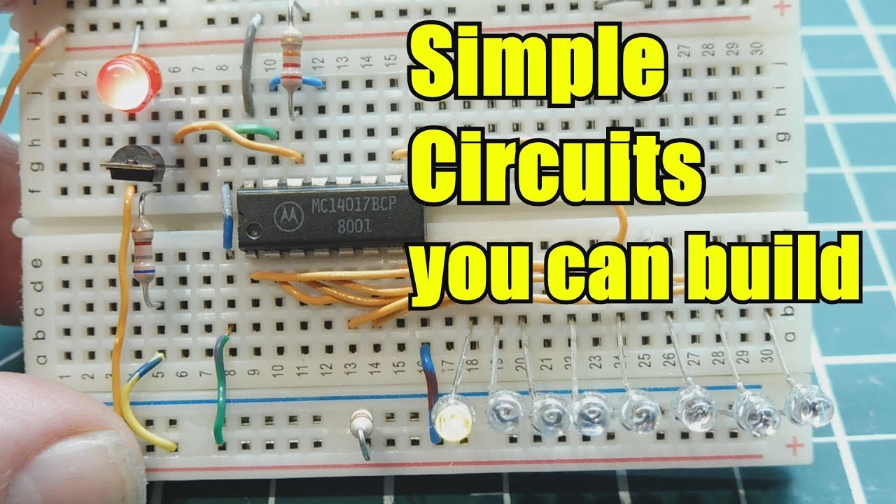 Simple Electronic Circuits You Can Build