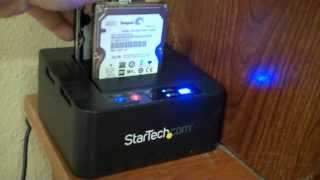 Startech Hard Drive Duplicator Dock , tutorial vlog