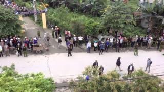 Cưỡng chế trái pháp luật ở huyện Thanh Hà, tỉnh Hải Dương 25/03/2015