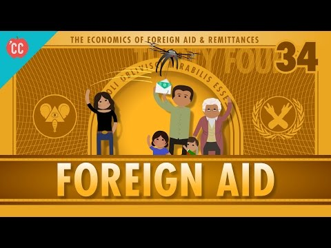 Foreign Aid and Remittance: Crash Course Econ #34