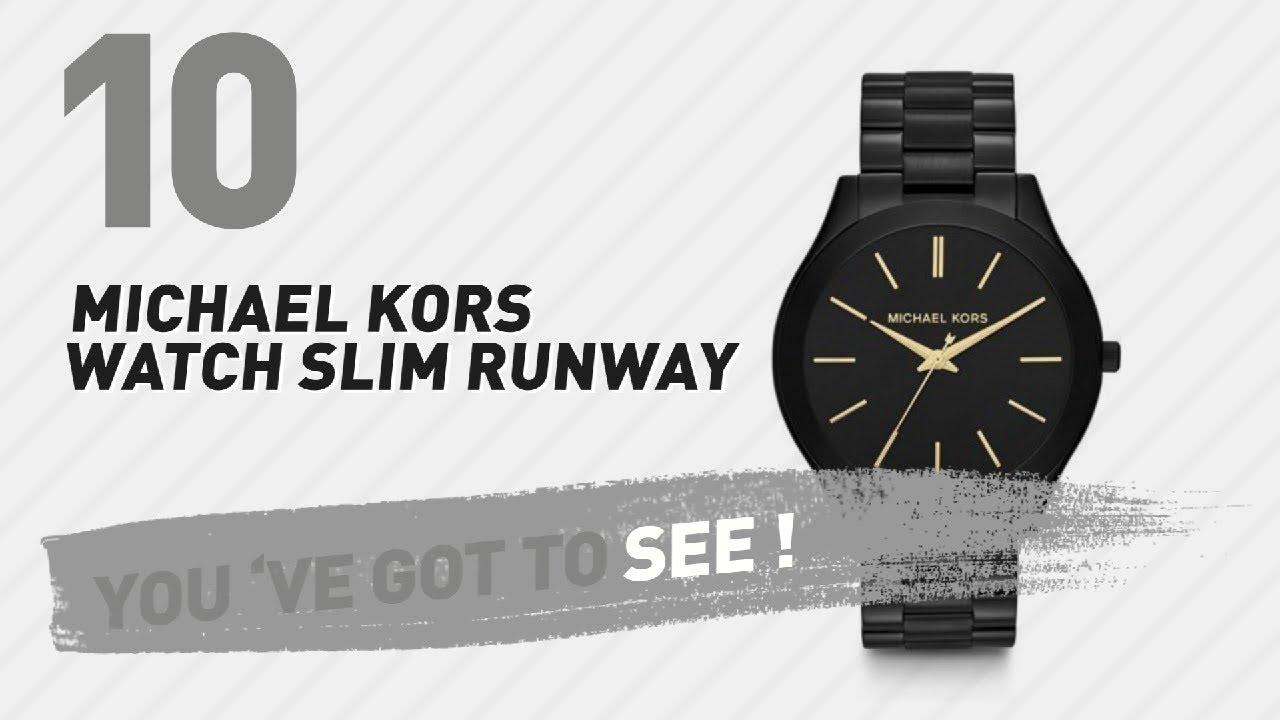 2040c27d3673 Michael Kors Watch Slim Runway    New   Popular 2017 - YouTube