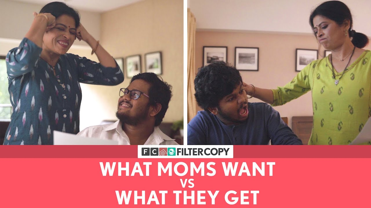 FilterCopy | What Moms Want vs What They Get | Ft. @Saurabh Ghadge & Sandhya Kute