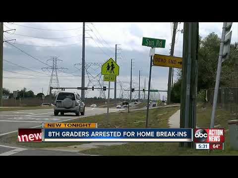 West Hernando Middle School students arrested for breaking into home, stealing guns