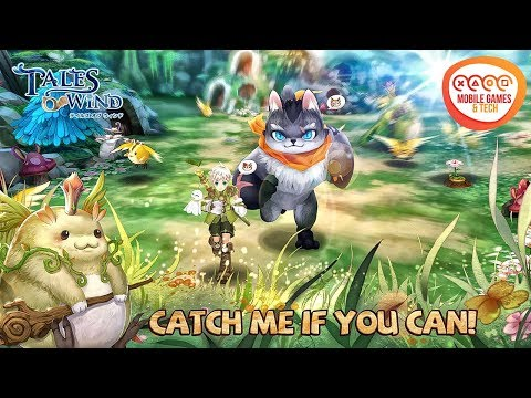 Tales Of Wind MMORPG   TOW   Gameplay And Character Customization Android IOS