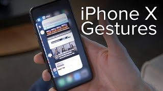 iPhone X new gestures and commands