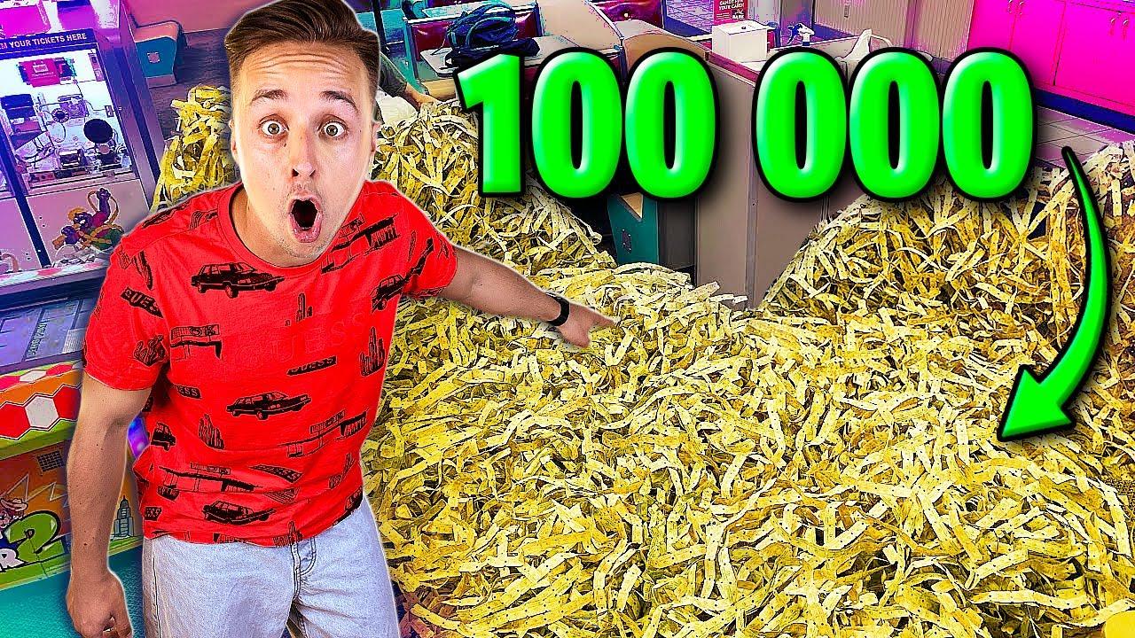 Download ПОТРАТИЛ МИЛЛИОН РУБЛЕЙ НА 100 000 БИЛЕТИКОВ…*** СОРВАЛ ДЖЕКПОТ ***
