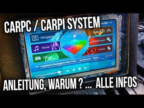 CarPc / CarPI System | Anleitung, warum ? ...  Alle infos