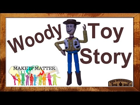 """""""Make It Matter"""" DIY Woody From The Toy Story Movie."""