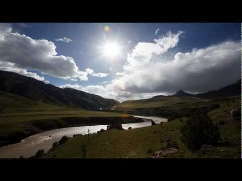 Journalist Sean Gallagher on the Tibetan Plateau