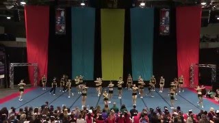 University of Regina Cheerleading - PCA UONCC 2014 - Run 1 - Small Coed