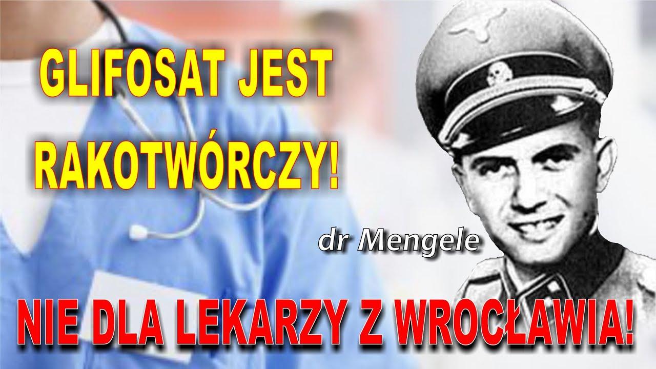 We Wrocławskim szpitalu dziwni lekarze nie widzą problemu w truciźnie. GLIFOSAT NIE SZKODZI