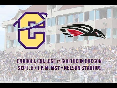 NAIA Football - Carroll College vs Southern Oregon