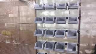 Custom Metal Work Bench/shop Storage - Part 5