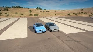 vuclip Forza Horizon 3: 2016 BMW M4 GTS vs BMW M4 Drag Race