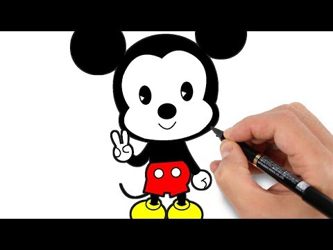Access youtube - Apprendre a dessiner mickey ...