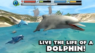 Dolphin Simulator By Gluten Free Games -Compatible with iPhone, iPad, and iPod touch.