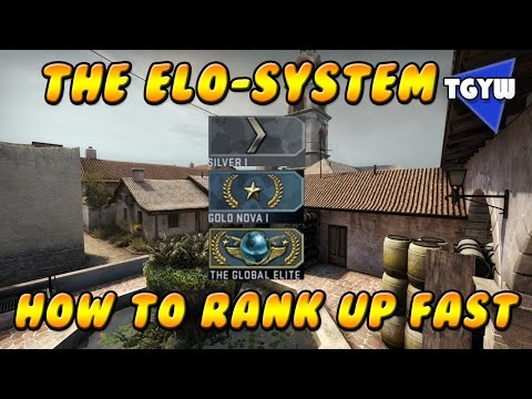 how to rank up fast in cs go competitive