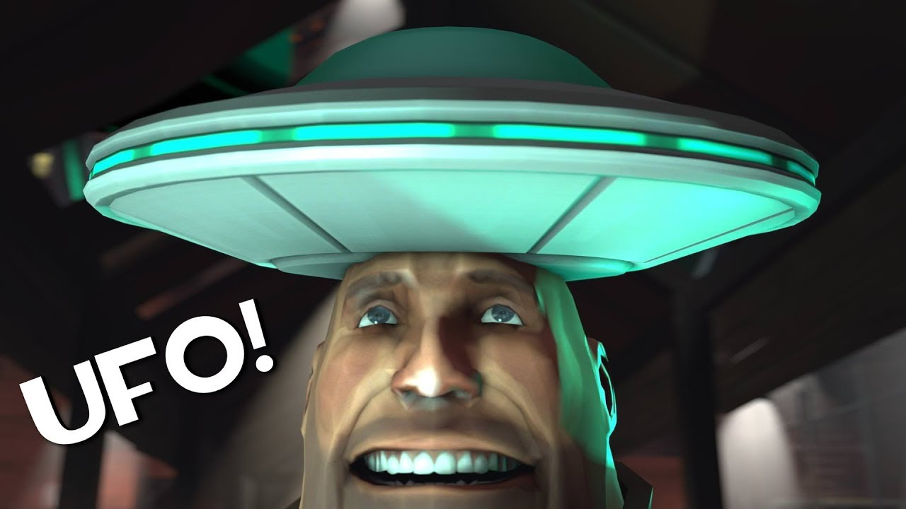 TF2 - The Rare UFO Shaped Hat You Don't Hear About Anymore