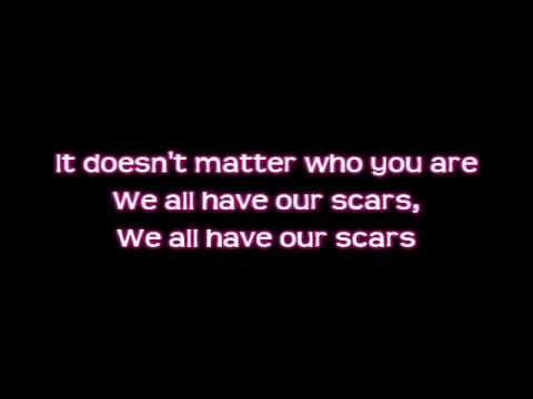 Allison Iraheta - Scars [Lyrics] FULL HQ