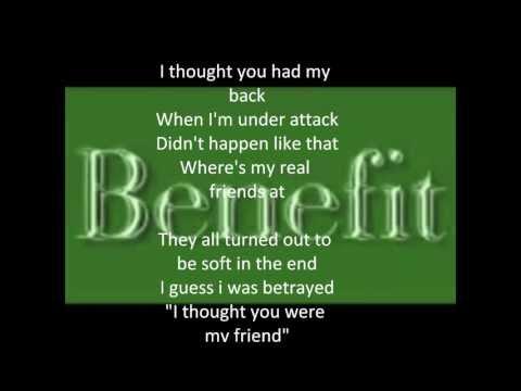 Benefit - friends (lyrics)