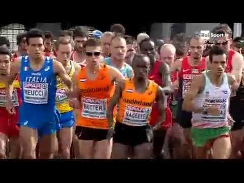 Half Marathon Men-European Athletics Championships Amsterdam 2016