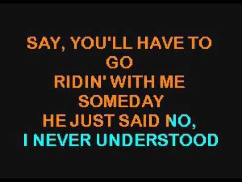 SC8120 15   Confederate Railroad   Daddy Was Never The Cadillac Kind [karaoke]
